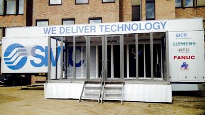 Technology truck is aanwezig bij Campus Plinus in Tongeren