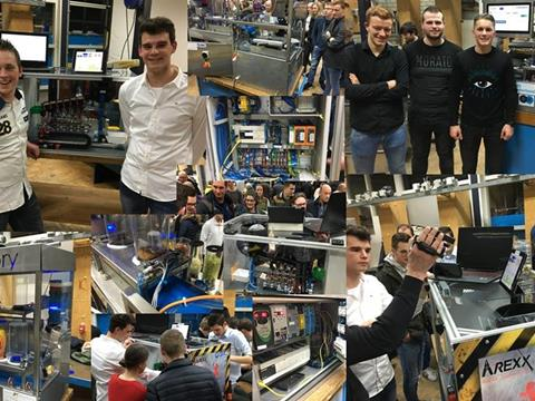 Markiezaat College Bergen op Zoom presenteert machines Vierdejaars